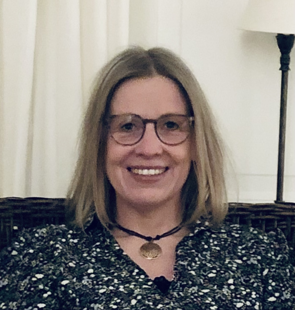 Lotte Christensen selvportræt